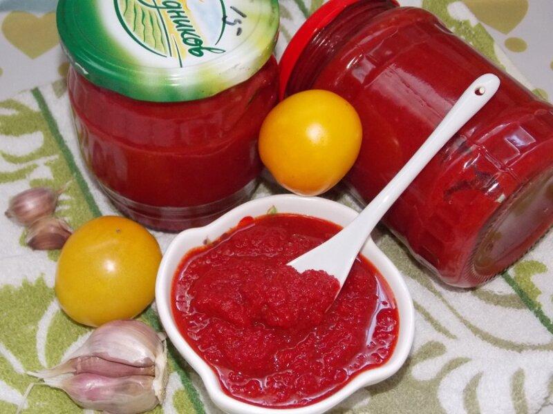 томатная паста из помидор на зиму