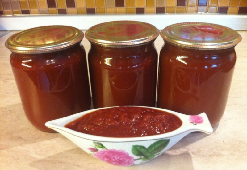 домашняя томатная паста