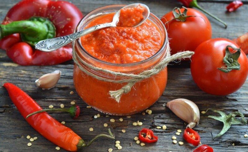 вкусный соус из помидор на зиму