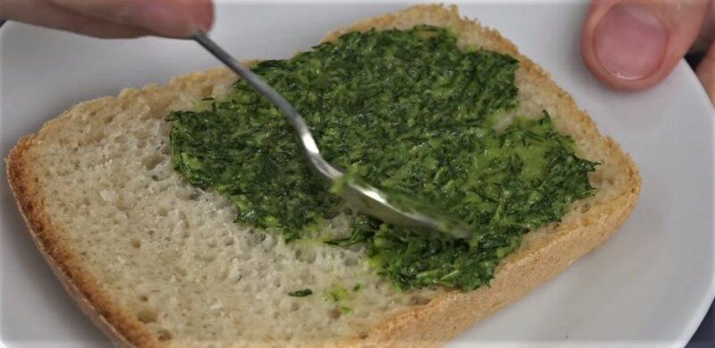 укроп на зиму на хлебе