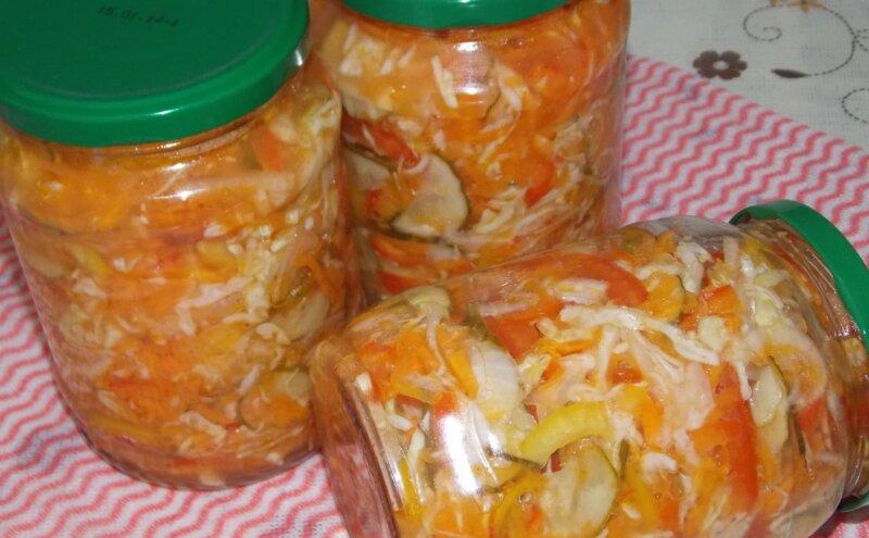салат на зиму Столичный