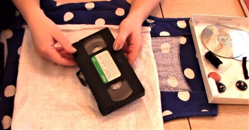 касета для волос чучела