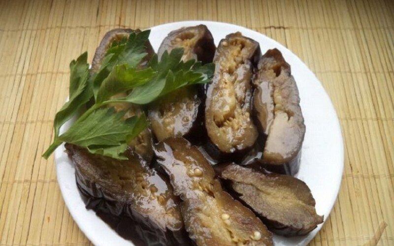 соленые баклажаны с чесноком