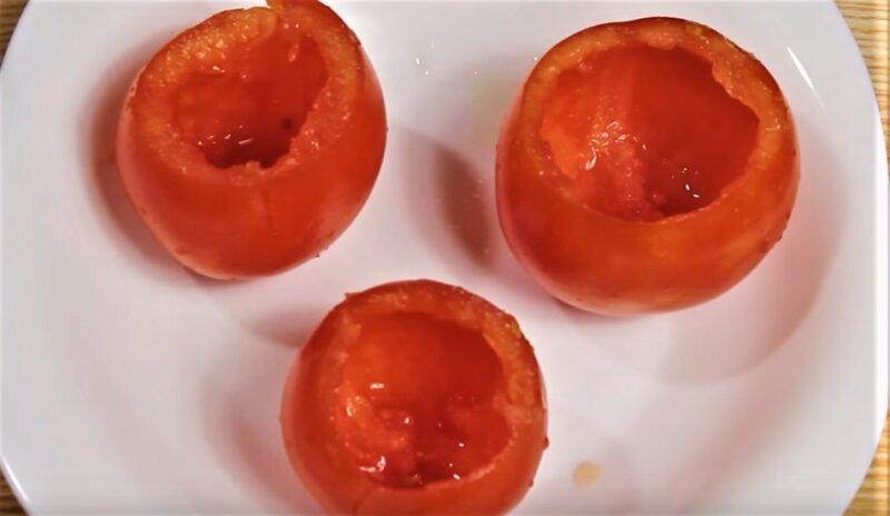 обработанные томаты