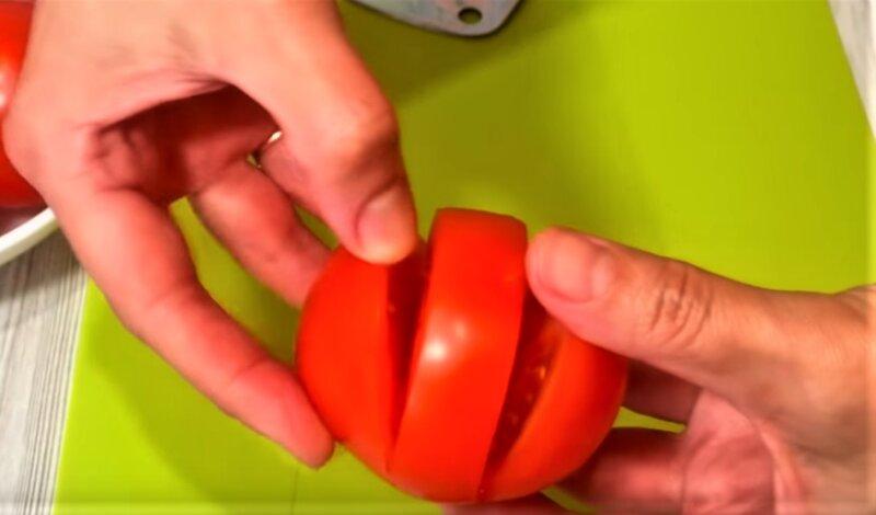 надрезы у помидоров