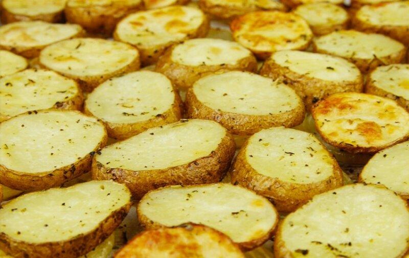 картофель в духовке кружочками