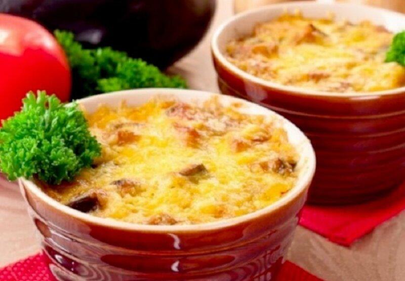баклажаны в духовке под соусом