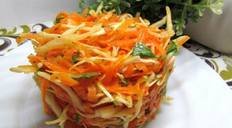 блюдо с тыквой и морковью