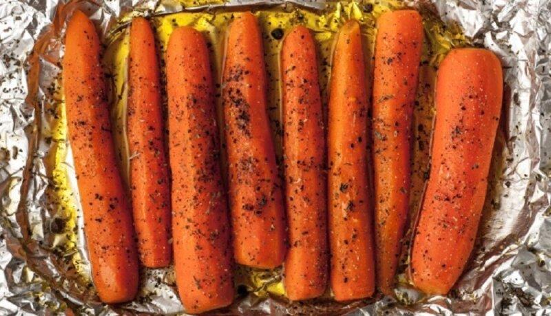 пряная морковь в духовке