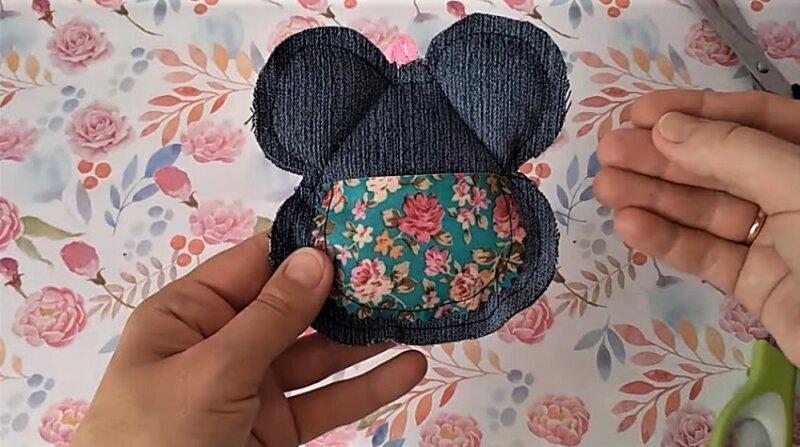 фартук на мышке