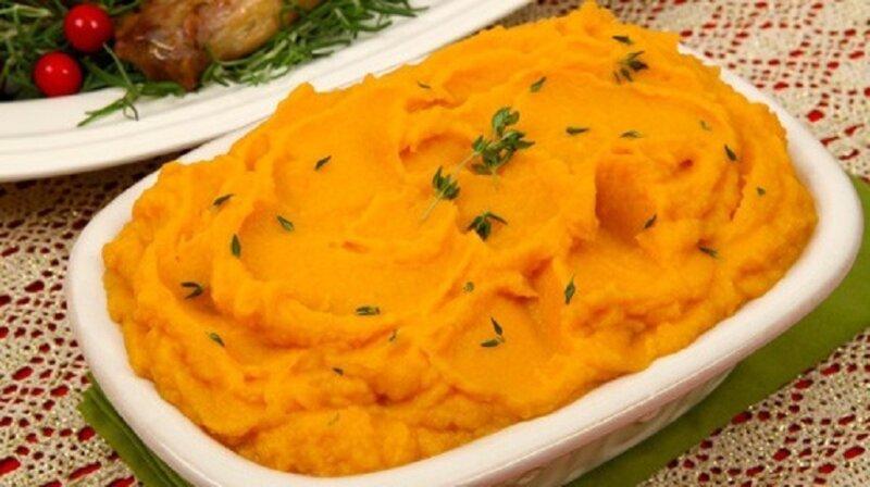 пюре с морковкой