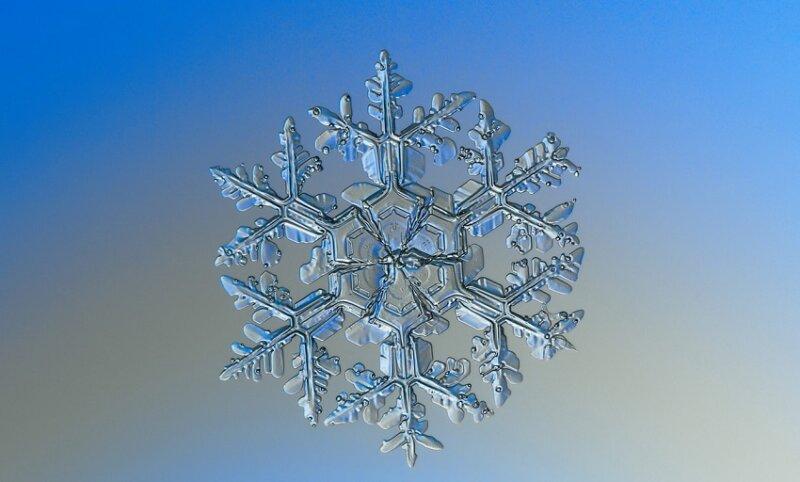 снежинки подобия