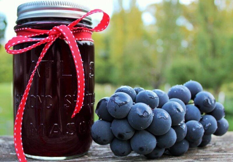 виноград в собственном соке