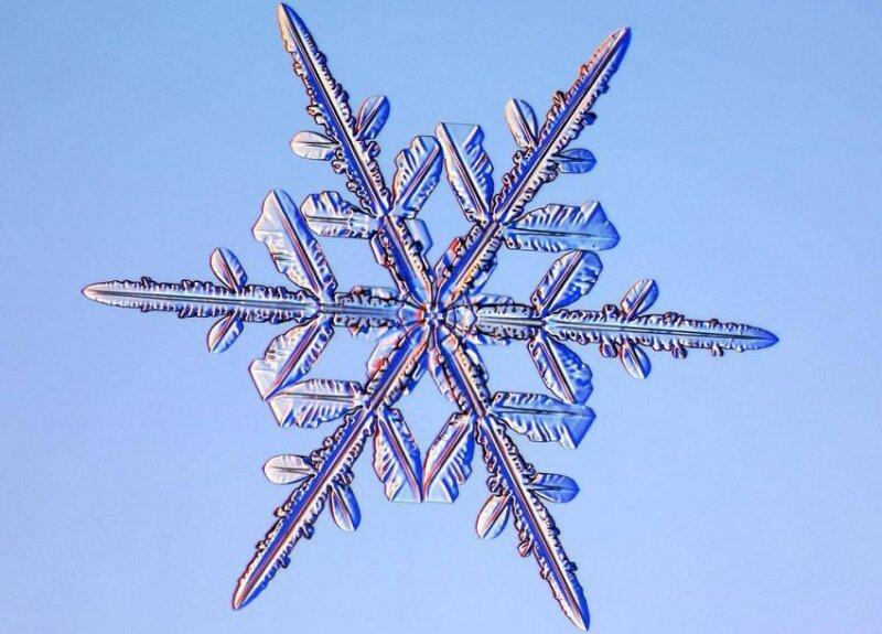 красивая снежинка подобие