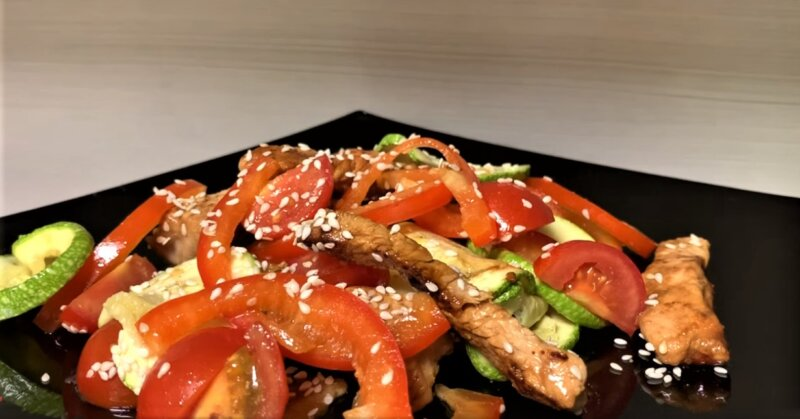 салат на новый год Калейдоскоп без майонеза