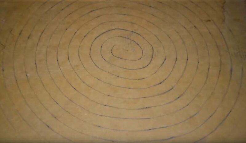 круги на картоне