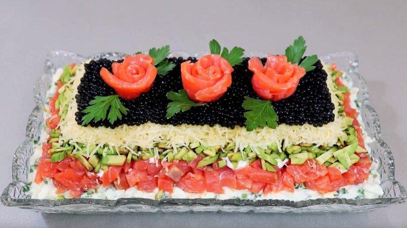 популярный салат