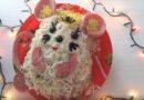 Салат в форме мыши (крысы) на Новый год 2020: вкусные рецепты