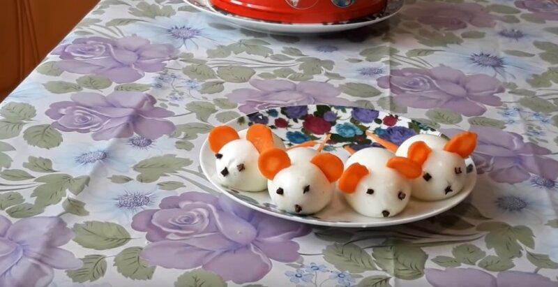 мышки из яиц