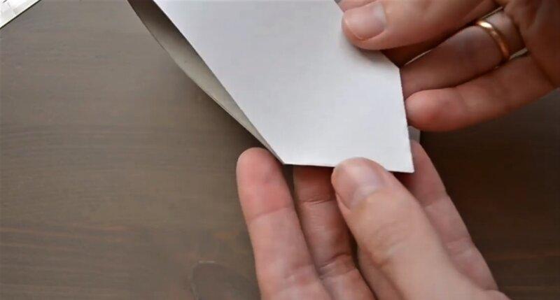 срезать углы бумаги