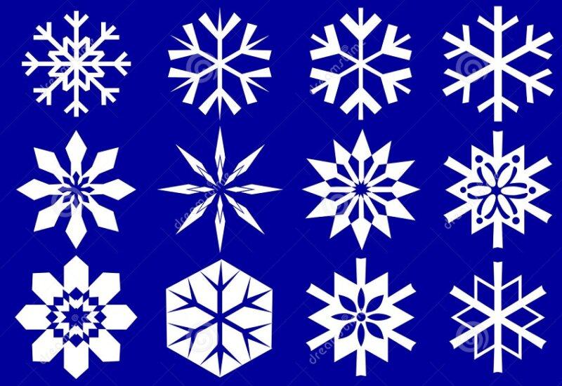 снежинки оргамент