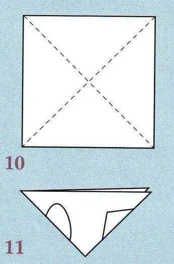 диагонали на квадрате