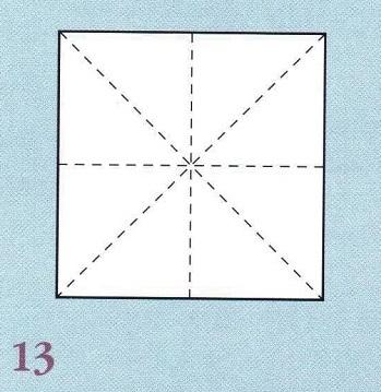 диагонали для складывания бумаги