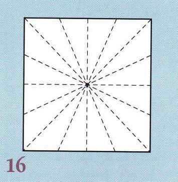нарисованные линии для складок