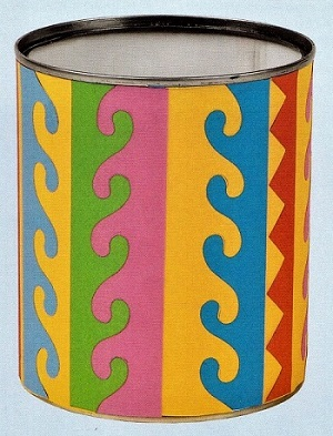 стаканчик для карандашей и новогодние идеи