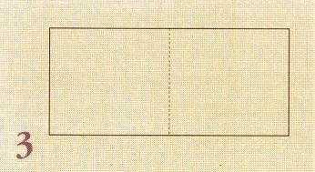 складывание бумаги по линии