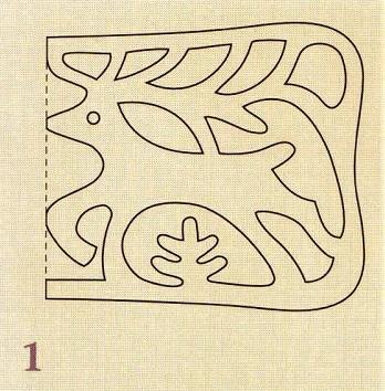 рисунок оленей