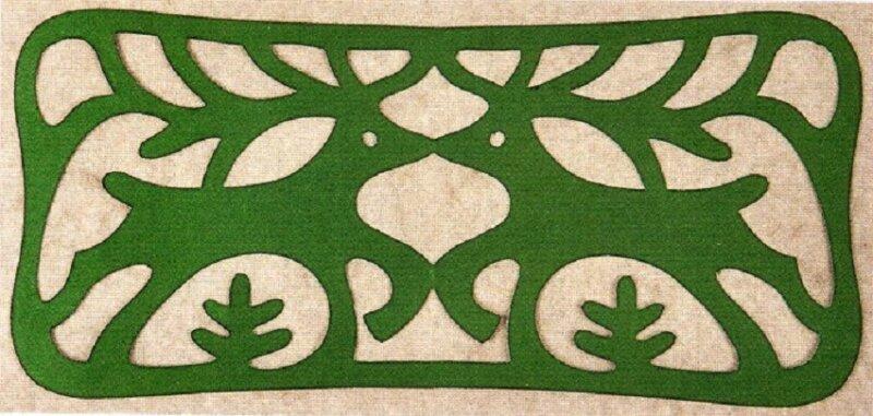 закладка с оленями