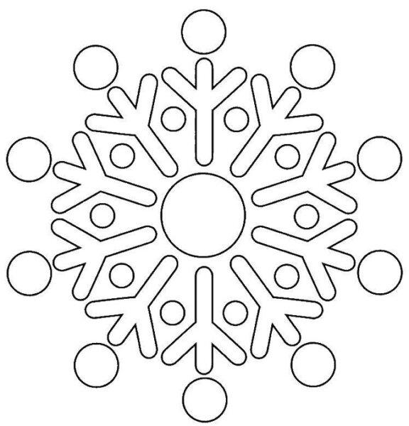 снежинка новогодняя - новогодние картинки