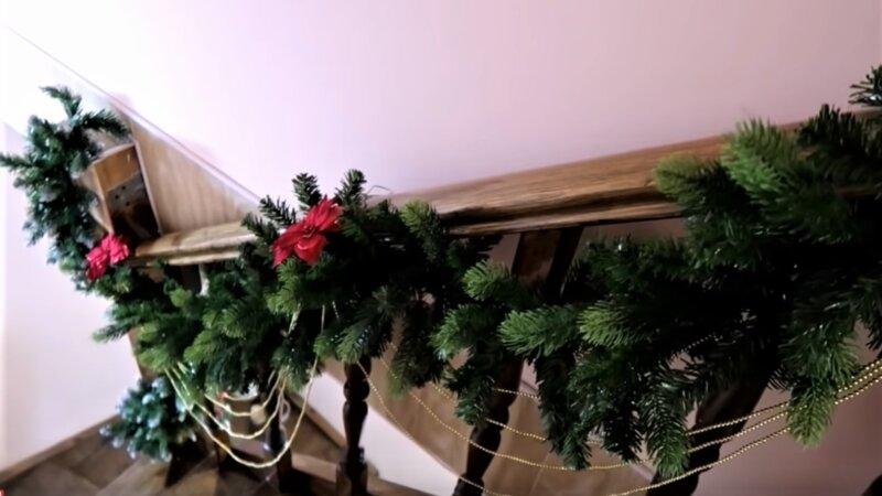 новогодняя лестница