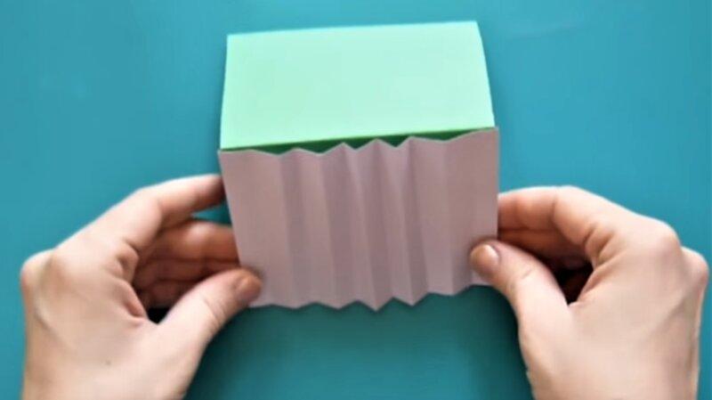 крыша из бумаги