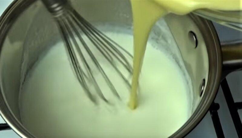 заварка крема