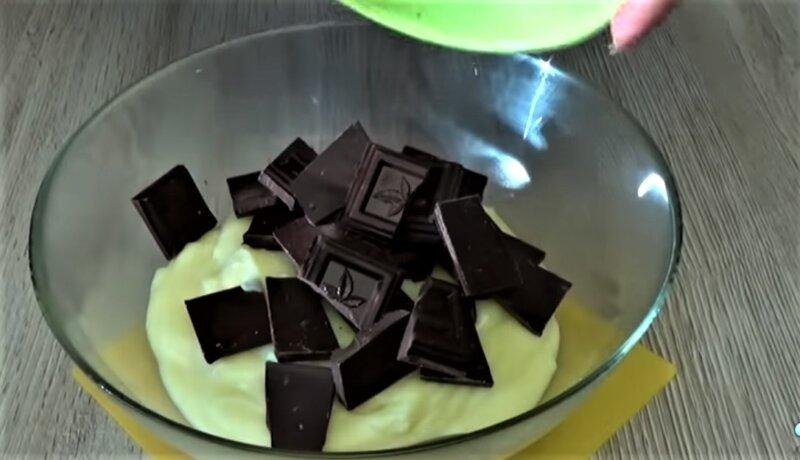 шоколад кусочки