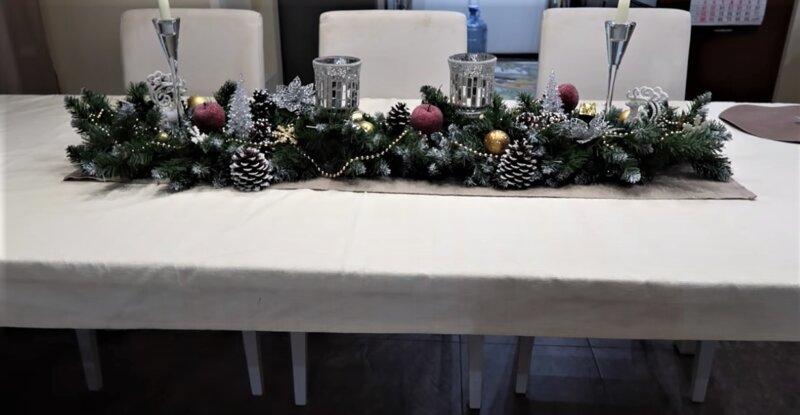 украшение стола