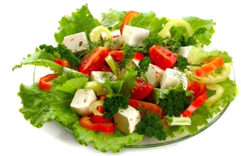 Салат с сыром — классические рецепты сырных салатов