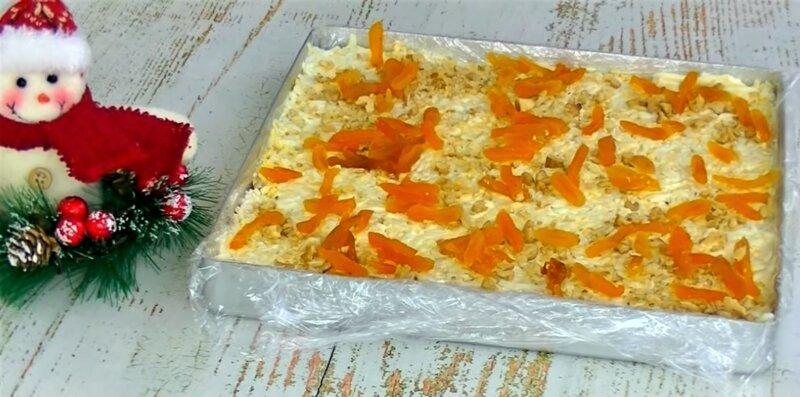 кусочки сушеных абрикосов