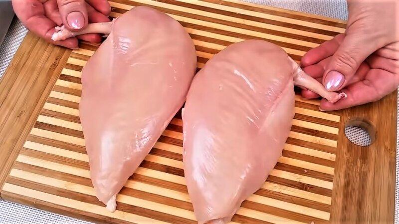 два филе с косточкой