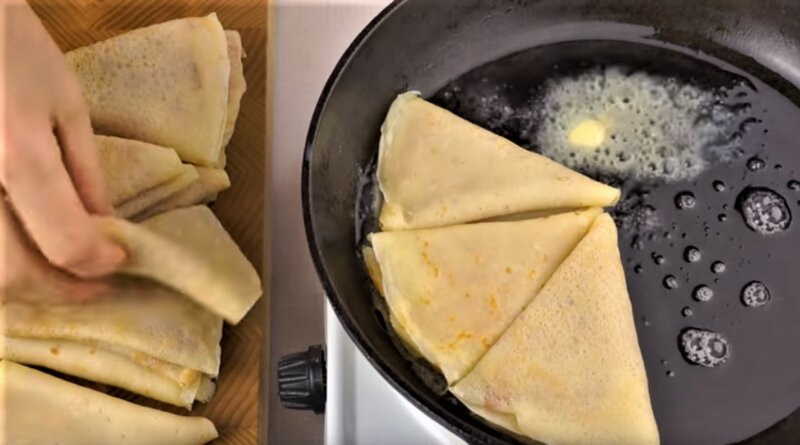 треугольники на сковороде