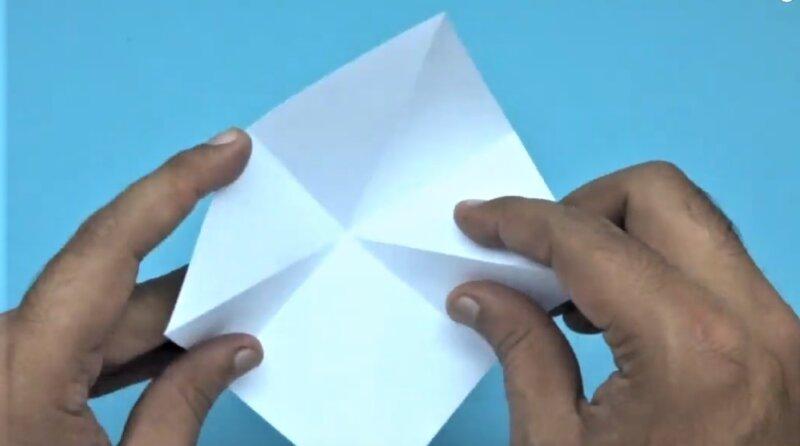 сгибы на бумаге