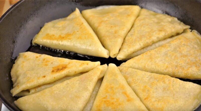 треугольники на тарелке
