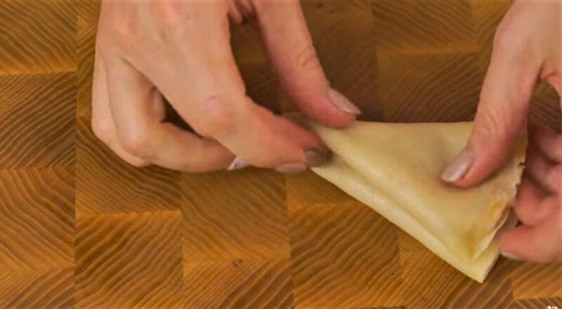 блин треугольник с начинкой
