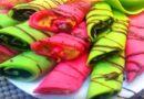 Разноцветные блины. Рецепты цветных блинов с начинкой