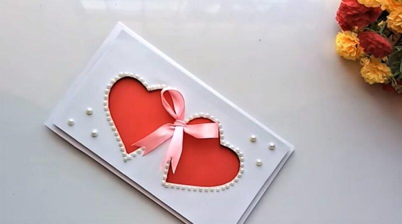 валентинки красные