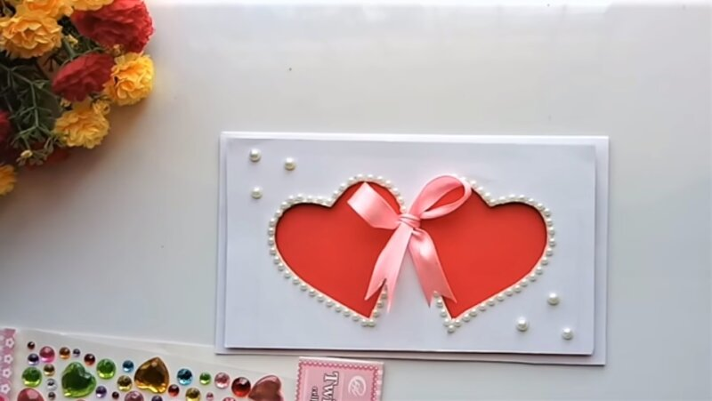 открытка-валентинки