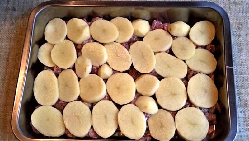 кольца картофеля