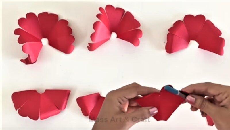 Сердце из бумаги своими руками (схемы, шаблоны)